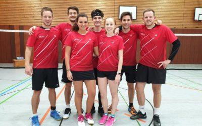 Badminton-Oberliga: Doppelt gepunktet im Abstiegskampf