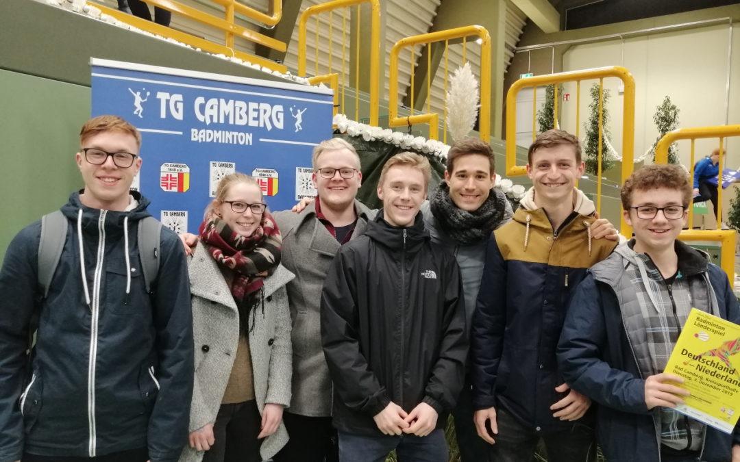 Europäisches Spitzenbadminton: BLZ zu Besuch beim Länderspiel Deutschland gegen Niederlande