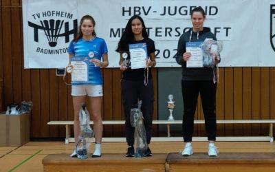 Clara Hess wird zweifache Hessenmeisterin U19